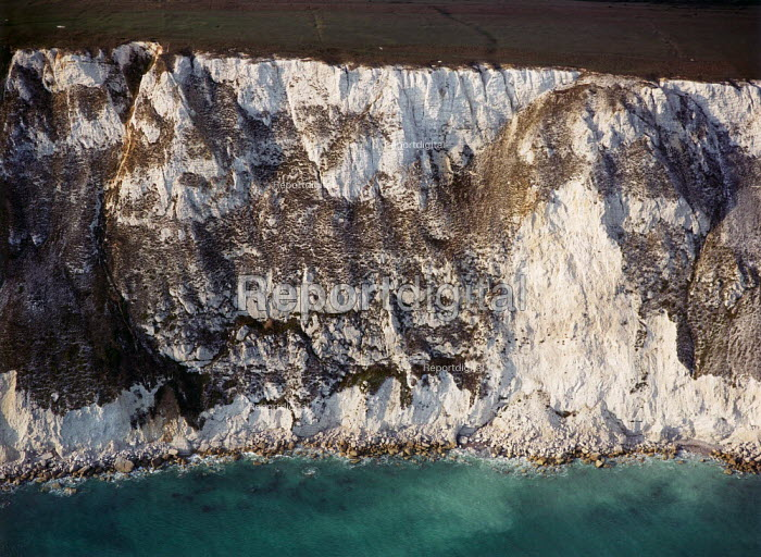 Details of cliffs on the west side of The Isle of Wight, at Tennyson Down. - Paul Carter - 1996-10-07
