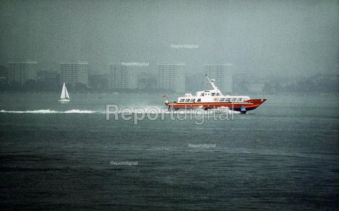 Passenger jet-foil catamaran. - Paul Carter - 2001-07-07