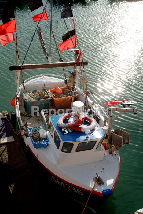 Small fishing boats docked in Brigton marina. - Paul Carter - 2003-07-10
