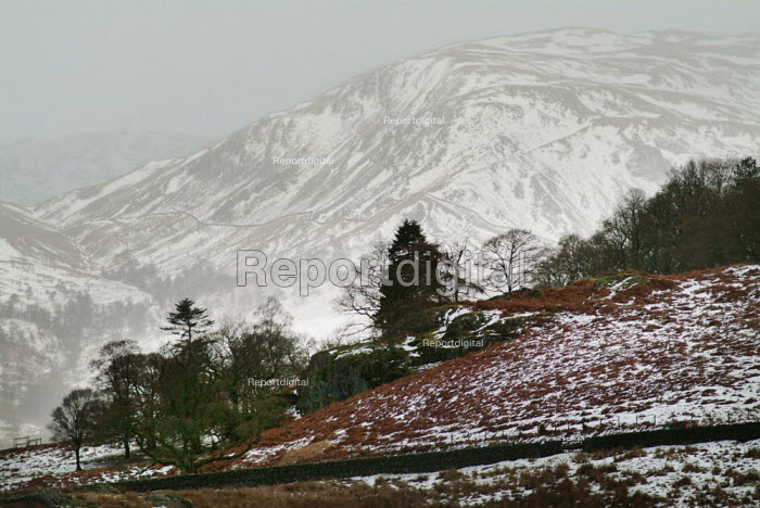 Snow covered hills, the Lake District - Paul Carter - 2004-01-01