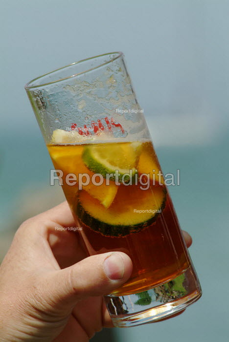 A glass of Pimms. - Paul Carter - 2004-07-27