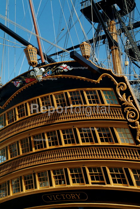 HMS Victory, Portsmouth. - Paul Carter - 2003-06-13