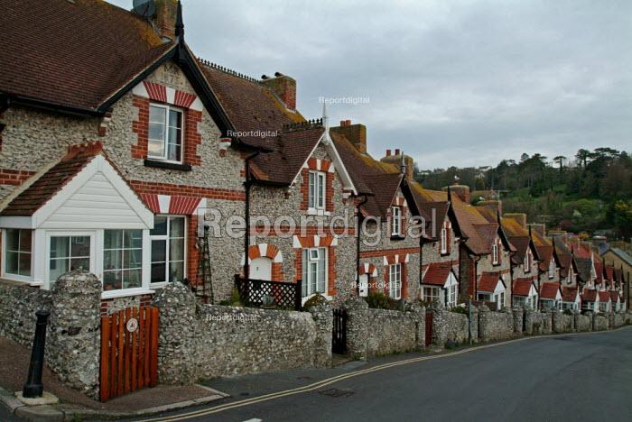 Fishermens' cottages. Beer, Devon. - Paul Carter - 2004-04-08
