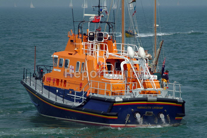 Yarmouth Life Boat, Isle of Wight. - Paul Carter, JP991978.jpg