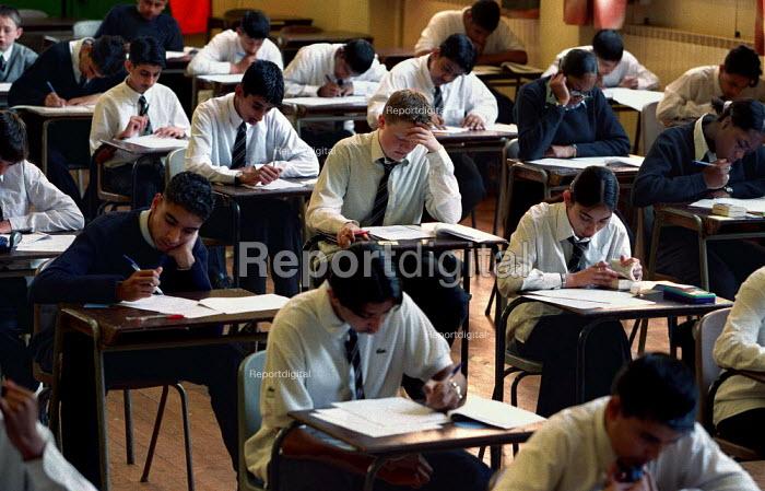 Secondary school exams. - Roy Peters - 1999-06-09