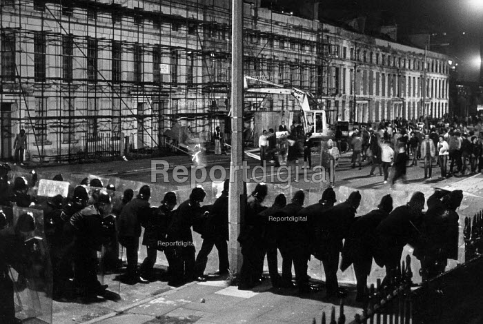 Black Britain 1980s Toxteth Riots Liverpool 1981 Black Britain 1980s