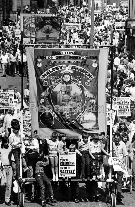 Turn Orgreave into Saltley placard, Maltby branch banner... - John Sturrock, JS1405031.jpg