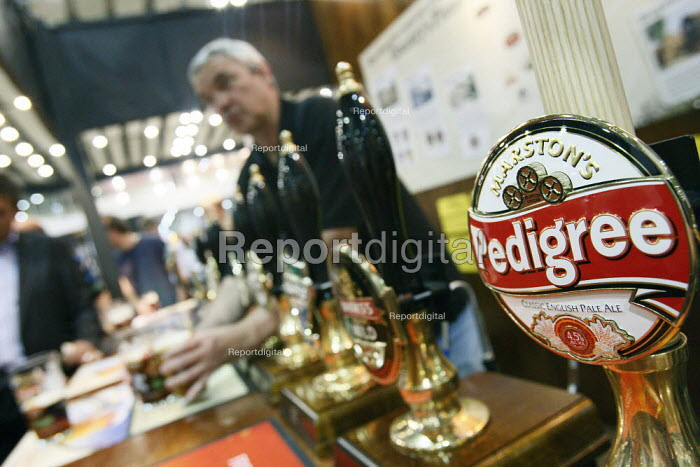 Great British Beer Festival at Earls Court, London. - Justin Tallis - 2010-08-05