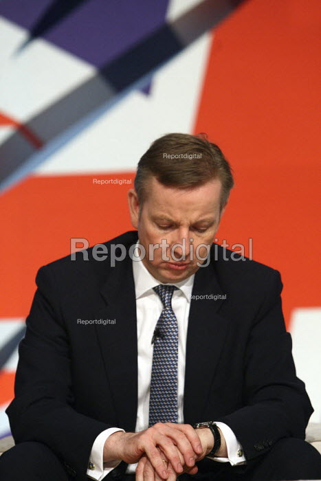 Michael Gove at the 2010 Conservative Party Conference... - Justin Tallis, JT1010C049.JPG