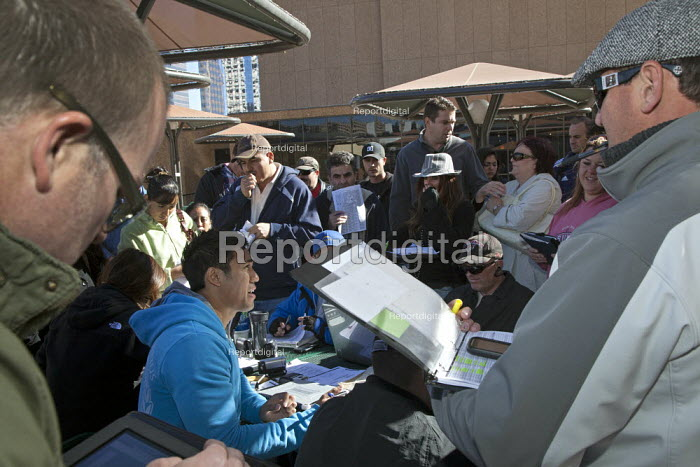 A sale of foreclosed homes, auctioned by ReconTrust Company, a subsidiary of Bank of America. USA. - Jim West - 2012-02-03