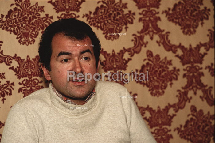 Dr. med. Davor Perinovic, president of HDZ BiH - the Croatian Democratic Party of Bosnia and Herzegovina - interviewed during the 1990 election - Martin Mayer - 1990-09-07