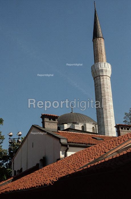 Gazi Husrev-beg Mosque, Sarajevo, Bosnia - Martin Mayer - 1990-09-09