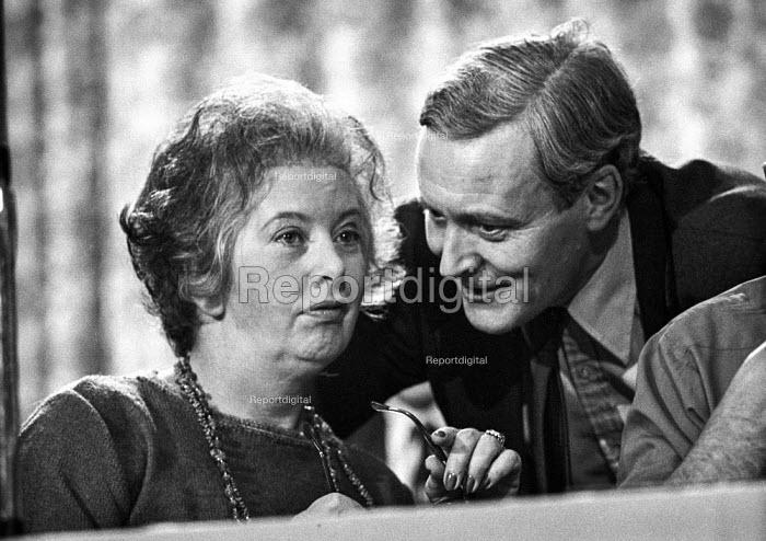 Judith Hart with Tony Benn, Labour Party confertence 1976 - NLA - 1976-09-27