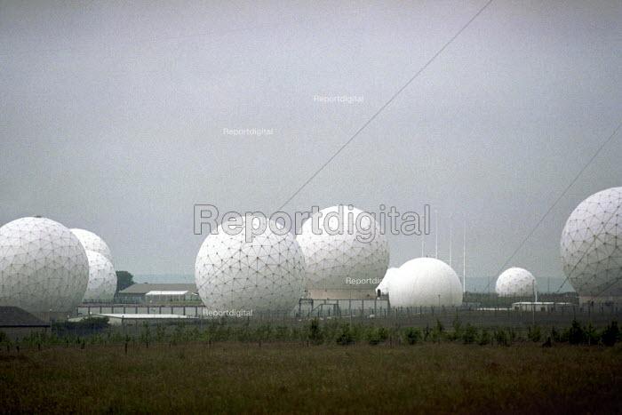 Menwith Hill spy base near Harrogate, North Yorkshire. - Mark Pinder - 2000-07-04