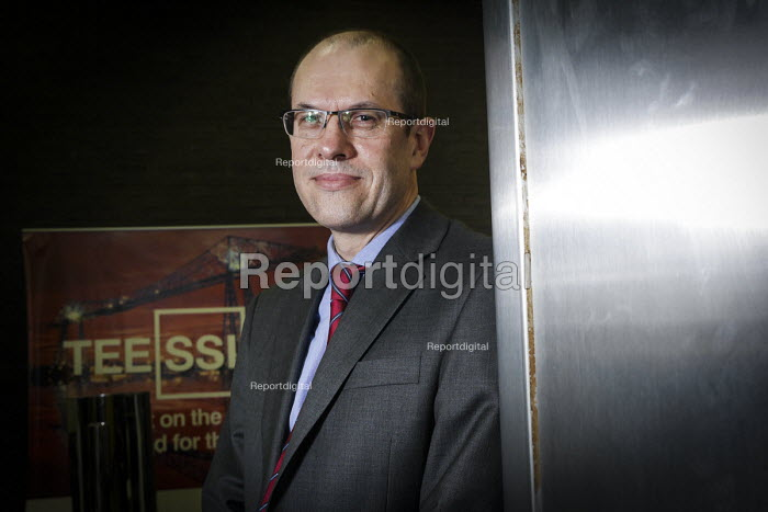 Cornelius Louwrens, UK Business Director and Chief Operating Officer of SSI UK, Redcar steelworks, Teesside - Mark Pinder - 2014-04-02