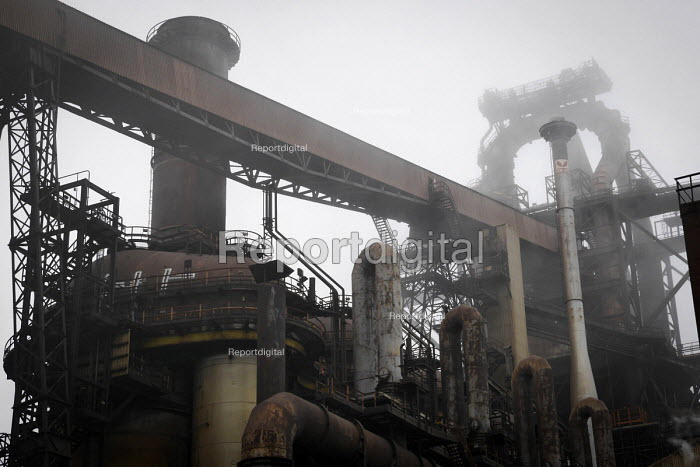 Blast furnace, SSI UK Redcar steelworks Teesside - Mark Pinder - 2014-04-02