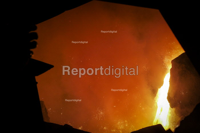 Blast furnace SSI UK Redcar steelworks Teesside - Mark Pinder - 2014-04-02