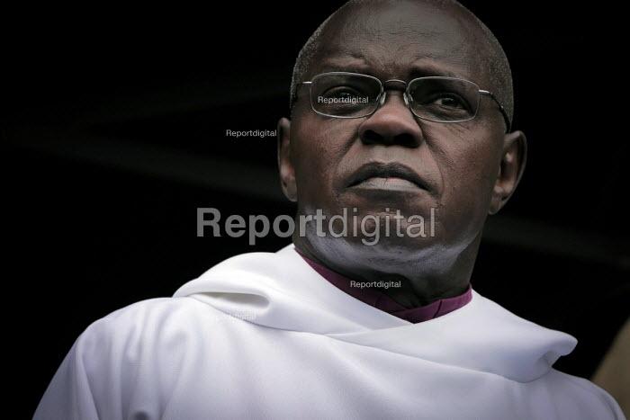 Archbishop of York Dr John Sentamu, York Minster, York, UK. - Mark Pinder - 2012-04-08