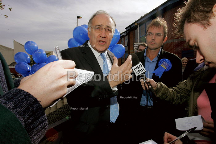 Hartlepool by election. Press interview.