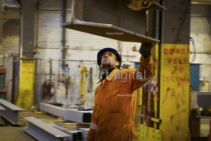 Offshore oil platform builder, OGN, (Offshore Group Newcastle), Wallsend, Tyne and Wear, UK - Mark Pinder - 2014-12-17