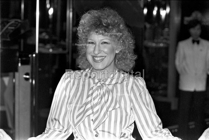 Bette Middler, London 1980 - NLA - 1980-01-26