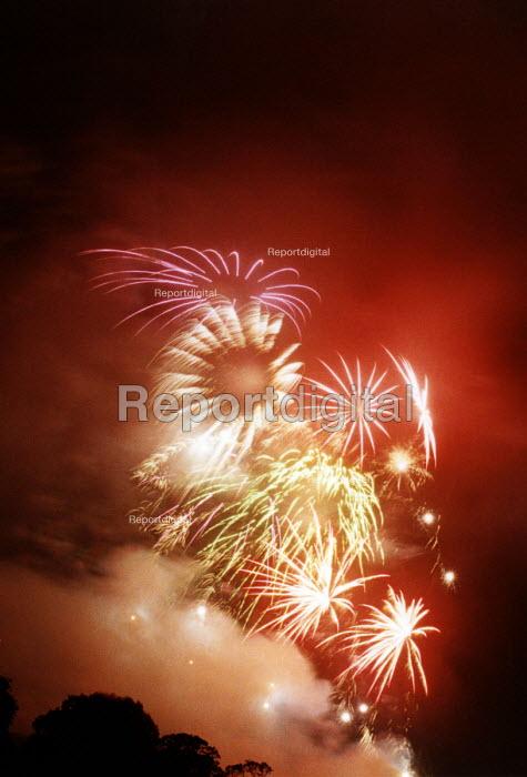 Firework display. - Paul Box - 2000-07-14