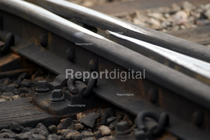 Railway track at Bristol Temple Meads. Great Western main line. - Paul Box - 2003-11-01