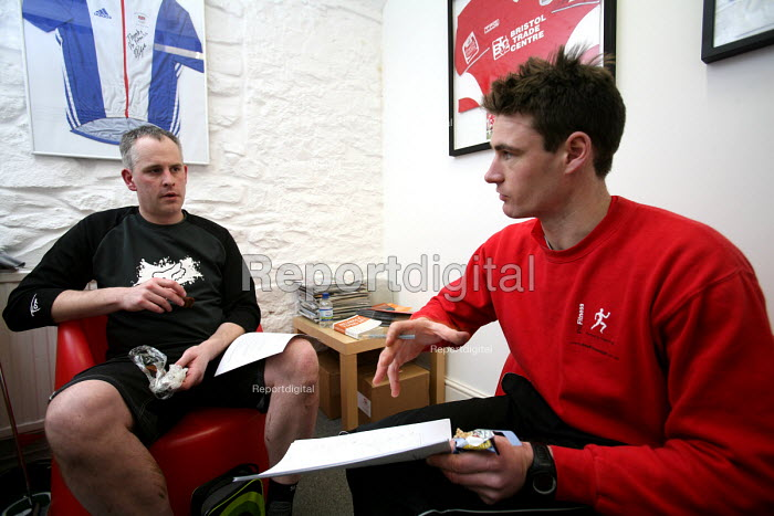 A personal trainer, one-to-one coaching their client. - Paul Box - 2007-02-04