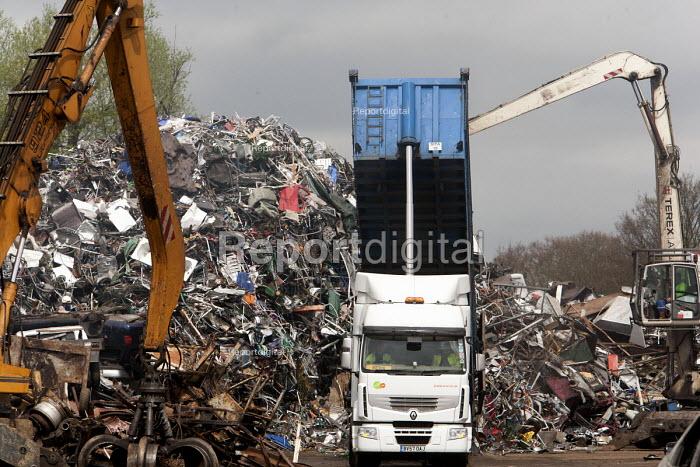 SITA metal recycling facility at Boreham, Chelmsford. - Paul Box - 2010-04-26