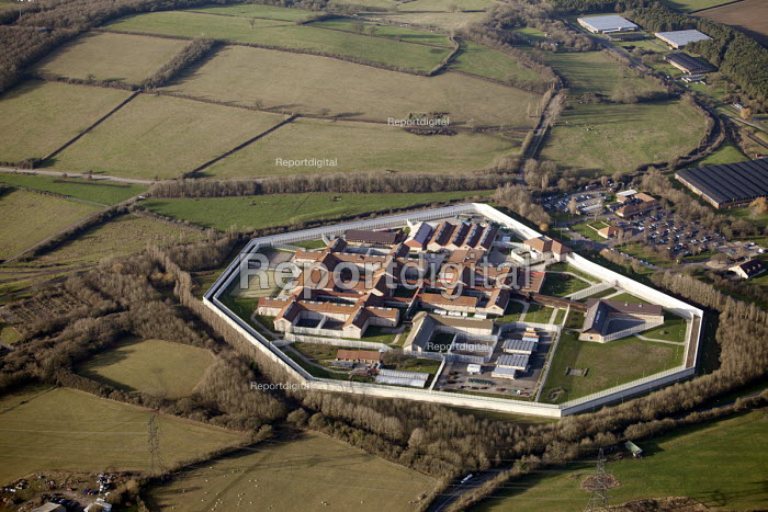 HMP Bullingdon a Category B/C men's prison, located in the village of Arncott (near Bicester) Oxfordshire. - Paul Box - 2012-01-13