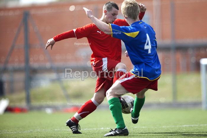 Football at Bristol City Academy. - Paul Box - 2011-05-14