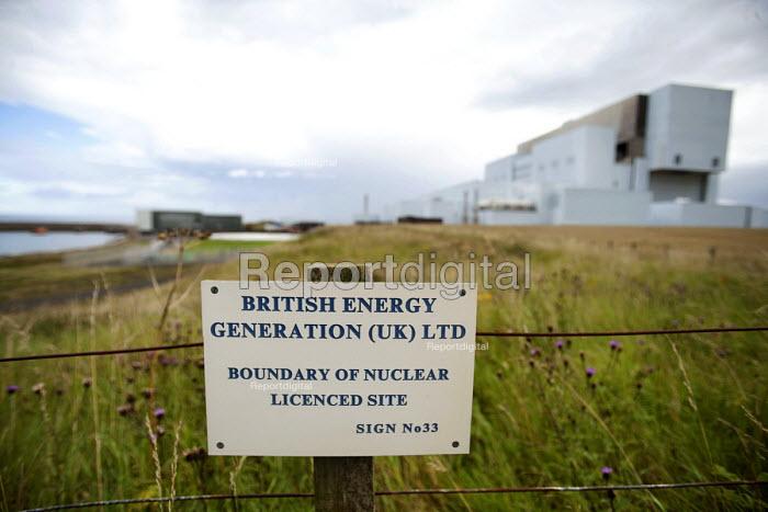 Torness Nuclear Power Station, Scotland. - Paul Box - 2008-08-10