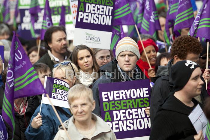 UNISON Pensions Strike, Cardiff. - Paul Box - 2011-11-30