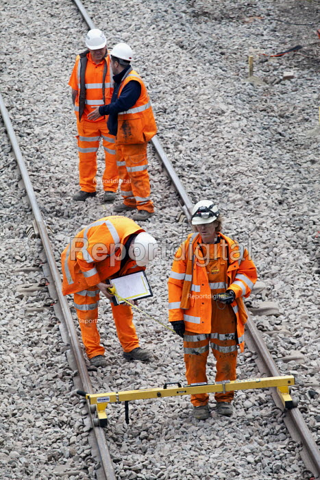 Portishead to Bristol freight line being upgraded. - Paul Box - 2012-05-20