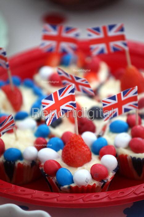 Celebrations of the Queens Diamond Jubilee, Llanmartin, Wales. - Paul Box - 2012-06-03