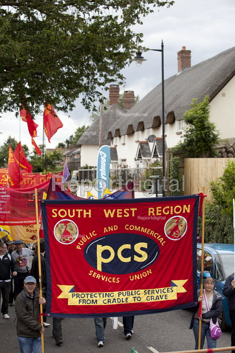 PCS at The Tolpuddle Martyrs festival, Tolpuddle - Paul Box - 2012-07-15