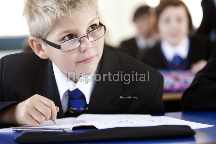 Students at Clevedon school, Clevedon - Paul Box - 2011-09-13