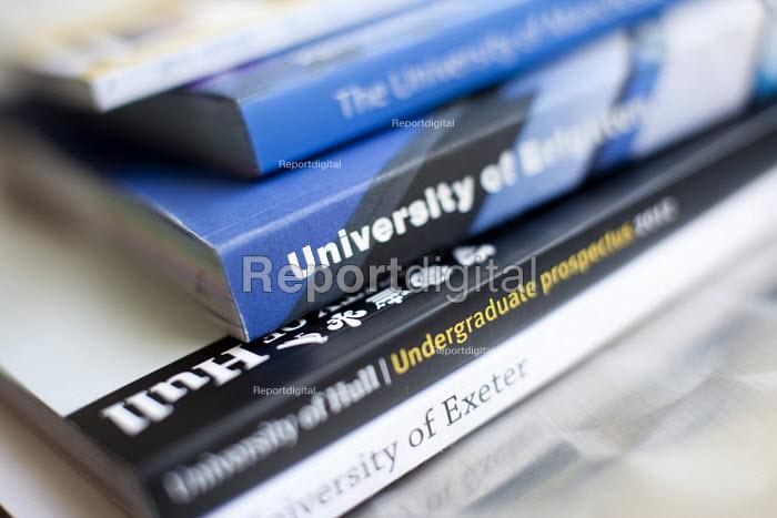 University prospectus for pupils aspiring to higher education, Clevedon school, Clevedon - Paul Box - 2011-09-14