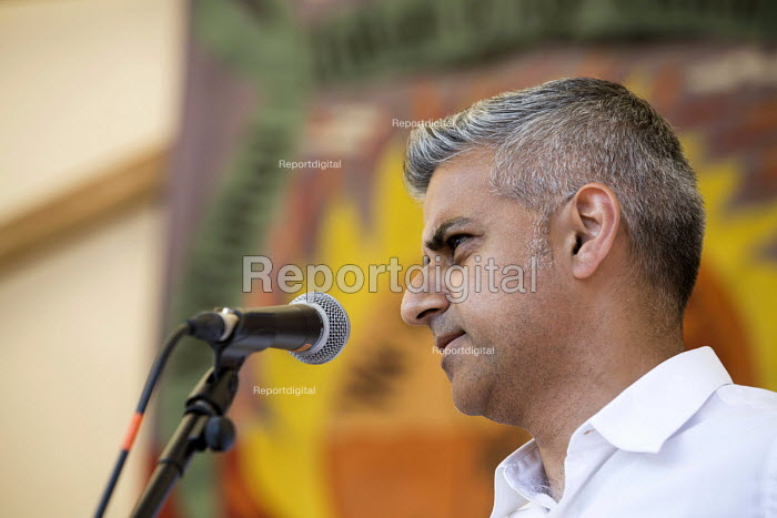 Sadiq Khan MP speaking at The Tolpuddle Martyrs Festival. Tolpuddle - Paul Box - 2013-07-21
