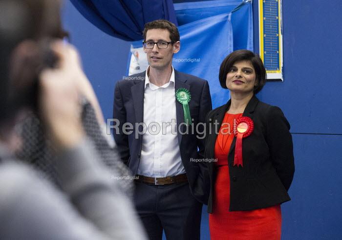 Thangam Debbonaire Labour Candidate wins, Bristol West General Election count, Bristol. - Paul Box - 2015-05-08