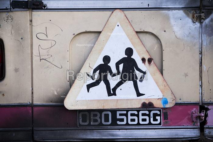 Dismaland a parody of Disneyland theme park by Banksy, Weston Super Mare. A Bemusement Park. - Paul Box - 2015-08-27