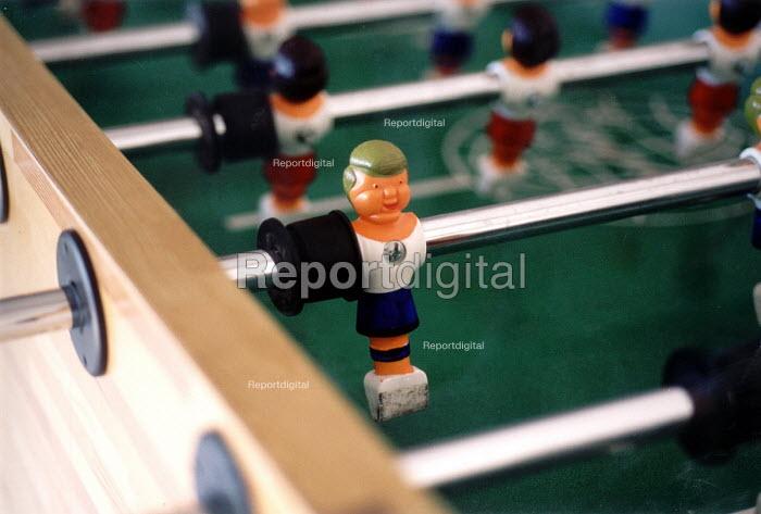 Table football game. - Paul Box - 2004-01-26