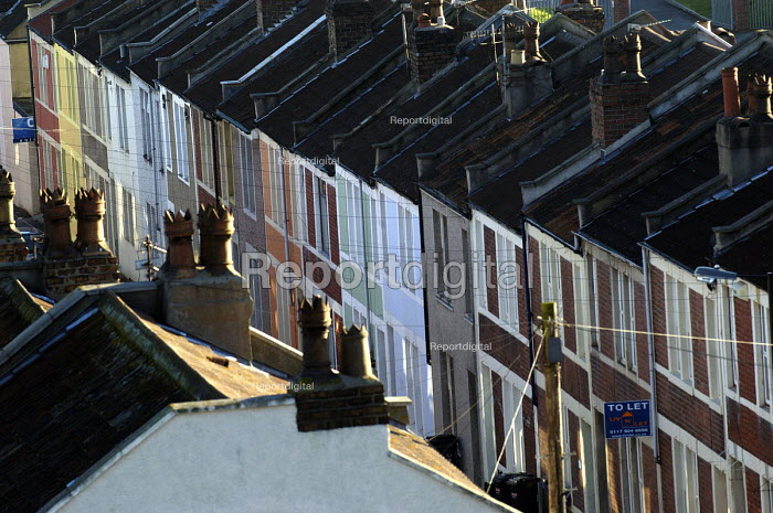 A row of victorian houses in Bristol - Paul Box - 2004-01-01