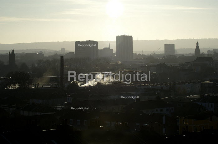 A view over the city of Bristol - Paul Box - 2003-11-01
