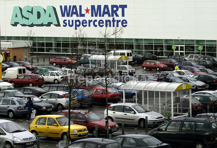 Asda Walmart superstore Bristol - Paul Box - 2003-01-18