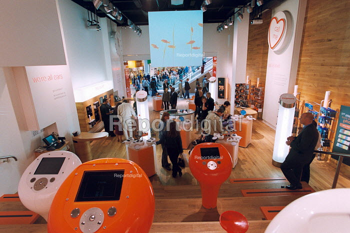 The Orange flagship store in The Birmingham Bull Ring - Paul Box - 2003-11-01