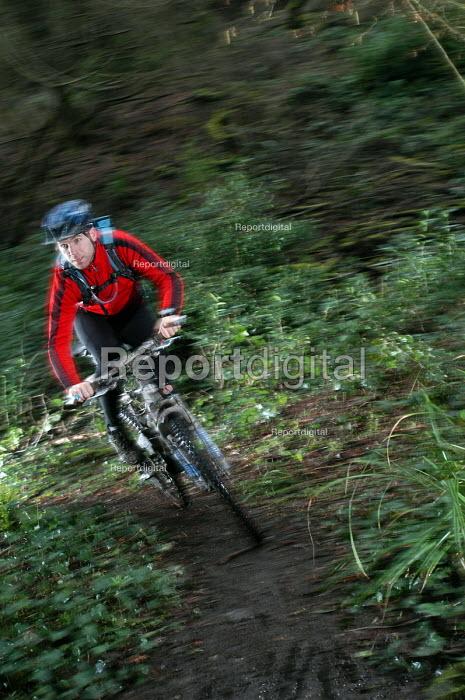 A male bike instructor - Paul Box - 2004-02-02