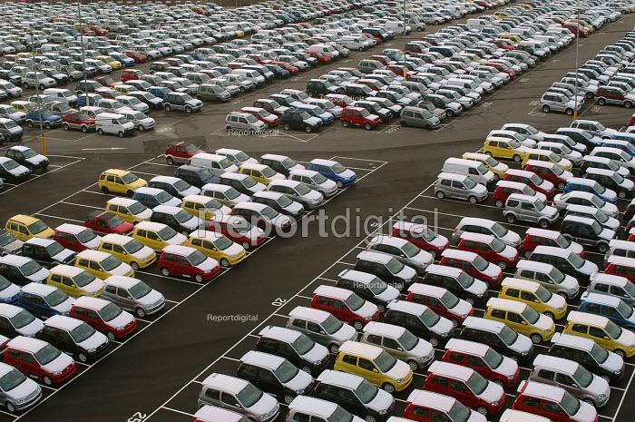 Portbury docks, Avonmouth Bristol - Paul Box - 2004-03-20