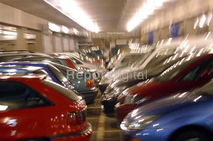 Ikea store, a full car park. - Paul Box - 2004-05-05