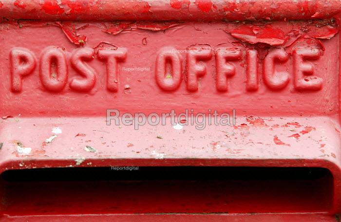 An old post box - Paul Box - 2004-07-02